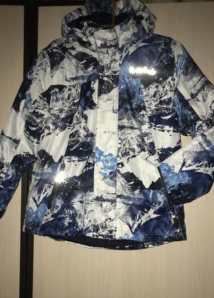 Зимняя термо куртка лыжная crivit на 134-140р.