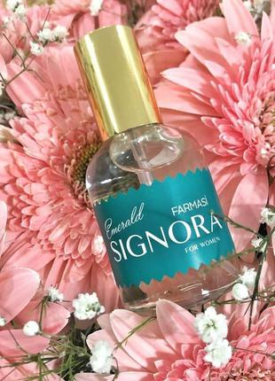 Стойкий нишевый парфюм Signora Emerald 50 ml аналог Lancome