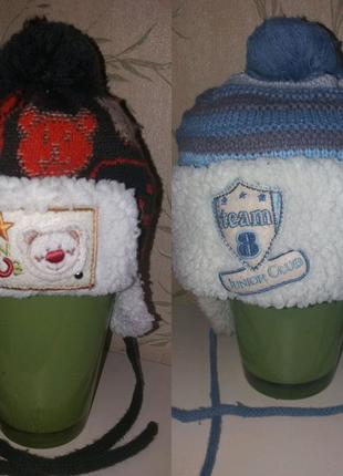 Зимняя детская шапка.