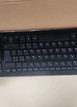 Клавиатура для ноутбука HP ProBook 4720S 4725S RU (черная, с рамк