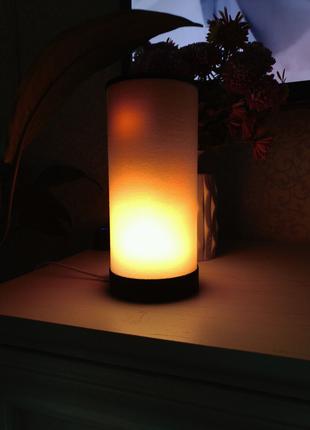 Красивая Огненная светодиодная WiFi LED лампа Alex Gyver Lamp