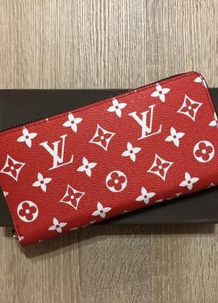 Женский Кошелек Louis Vuitton Красный