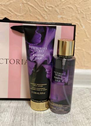 набор косметики Victoria's secret(мист+парфюмерованый лосьон)