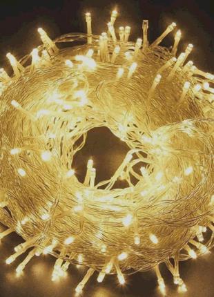 Гирлянда 500 LED , 40 м. . Новогоднее освещение .