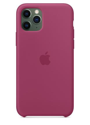 Чехол Apple для iPhone 11 Pro Silicone Case Pomegranate