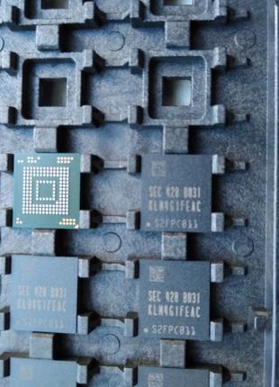 KLM4G1FEAC-B031 BGA память eMMC