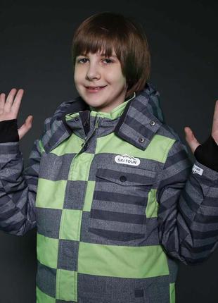 Зимняя куртка р.158/164 премиум-качество чехия теплая