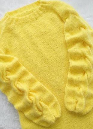 Шикарный ангоровый свитер