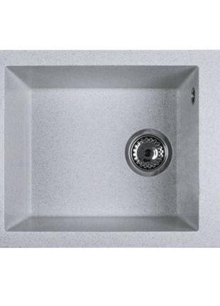 Кухонна мийка Ventolux AMORE (Grey SAND) 500x400x200 Вентолюкс