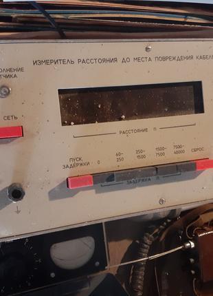 Измеритель расстояния Щ-4120 до место повреждения кабеля
