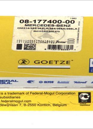 0817740000 Goetze КОЛЬЦА КОМПР. D94mm STD DB (OM314,352/A,362LA,3