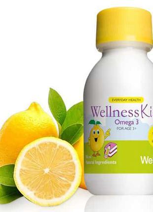 Wellness Велнес Омега-3 Для Детей код 22467