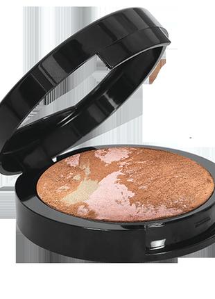 Запеченная бронзирующая пудра terrakota powder farmasi, 13,5г