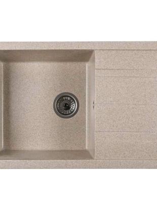 Кухонна мийка Ventolux DIAMANTE (BROWN SAND) 765x485x200