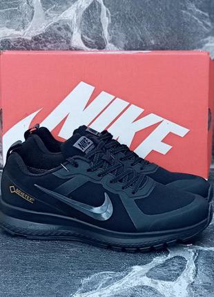 Мужские термо кроссовки nike air relentless чёрные,демисезонны...