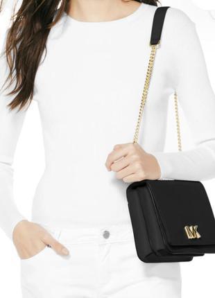 Сумка michael kors mott large leather shoulder bag