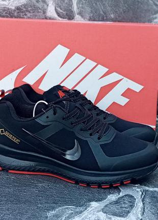 Мужские демисезонные кроссовки nike air relentless черные,терм...