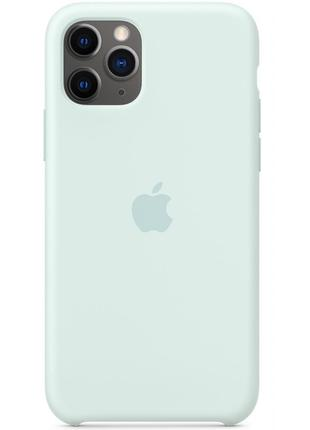 Чехол Apple Для IPhone 11 Pro Silicone Case Seafoam