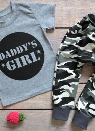 """✅ костюм для девочек """"daddy's girl"""""""