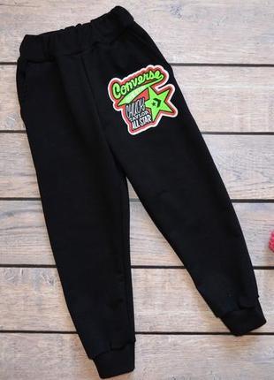 "✅ модные штаны  ""converse"" конверс"