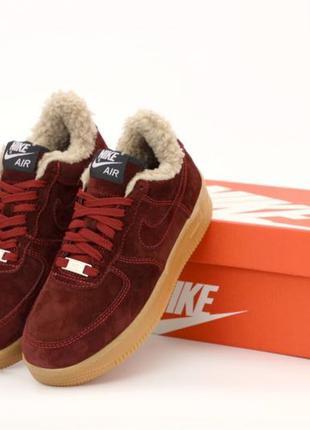 Кроссовки Nike Air Force 1 low winter