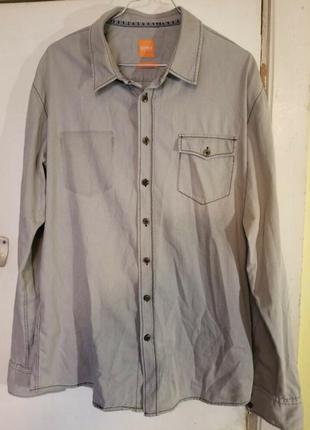 Рубашка boss handcrafted original.