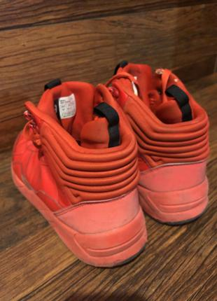 Польські стильні кросівки CROPP утеплені, червоні