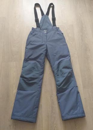 Зимние термо-штаны на девочку 7-9 лет