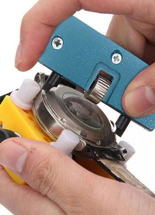 Регулируемый инструмент для открывания наручных часов