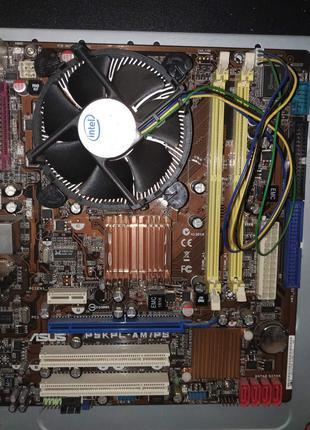 Материнская плата процессор Intel E5200 pentium dual-co LGA775