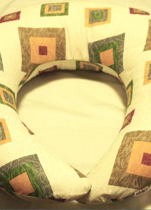 Подушка для кормления Бязь кубики