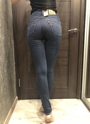 Новые джинсы levi's 721 high rise оригинал