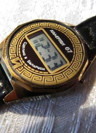 Часы Электроника Камертон - 67, ремешок, новые