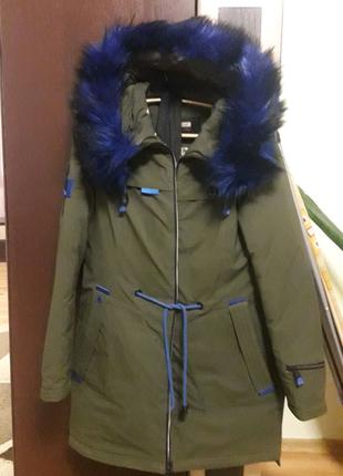 Пуховик теплий зима