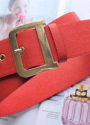 Женский модный ремень красный