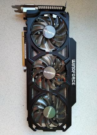 Видеокарта GIGABYTE GeForce GTX 770 WINDFORCE 3X 450W (GV-N770WF3