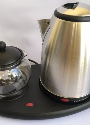 Чайник электрический с чайничком для заварки чая TEAFAELL TF-200