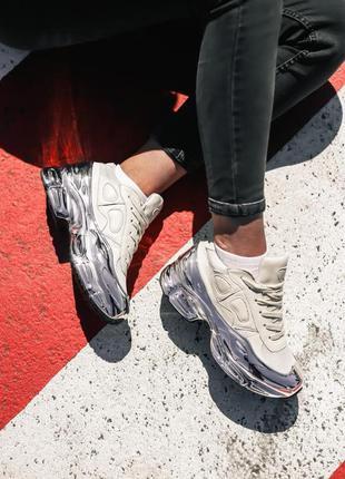 Adidas raf simons rs ozweego white silver🆕шикарные кроссовки🆕к...