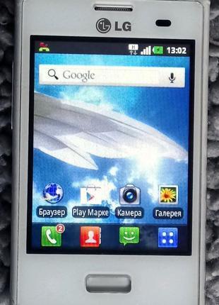 Смартфон LG-E400 без АКБ