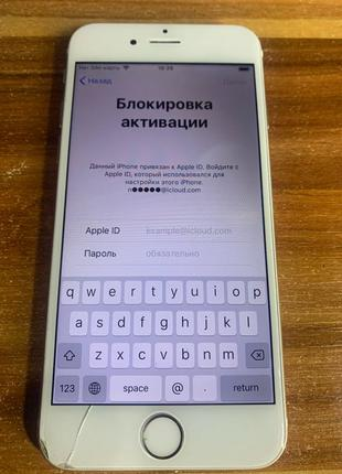iPhone 6 16 gb iCloud