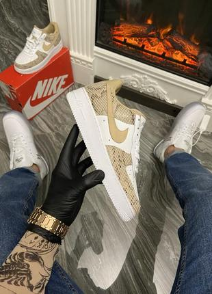 Nike air force 1 low snake
