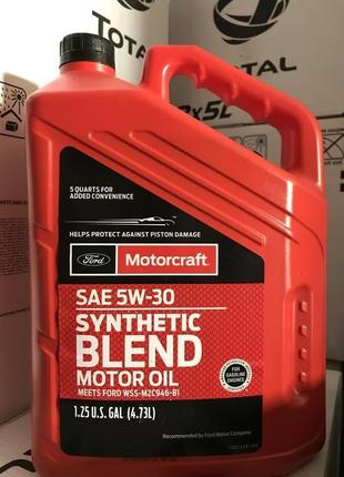 Ford Motorcraft Synthetic Blend 5W-30 5/1L