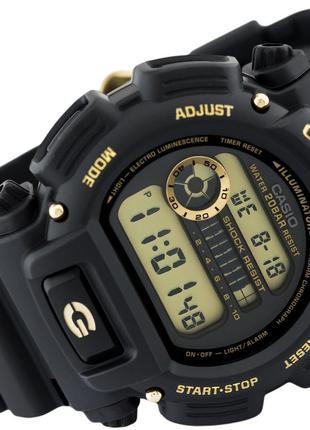 Часы Casio G-Shock DW-9052GBX-1A9 оригинал, цифровые, с желтым