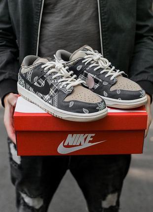 Nike  sb dunk x travis scott 🆕шикарные кроссовки найк🆕купить н...