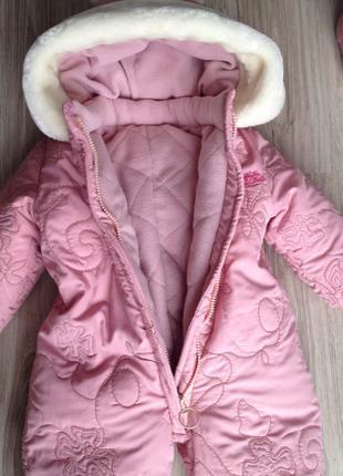 Детский пуховый комбинезон для новорожденных (детская одежда)