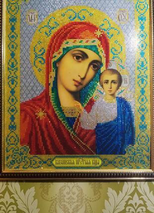 Икону алмазной мозаики