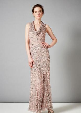 Эксклюзивное вечернее платье гетсби бисер пайетка phase eight ...
