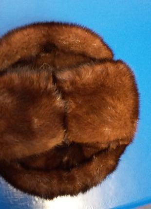 Шапка мужская зимняя норковая