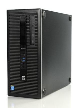 Игровой Компьютер HP! Сore i5-4570(3.6GHz)8Gb/SSD+HDD/GTX 1060