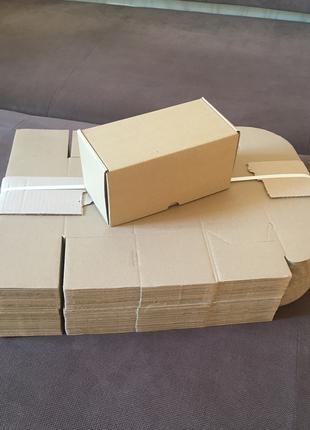Картонная коробка самосборная для упаковки подарков 50 шт.